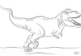 tyrannosaurus rex coloring pages coloring print 5092