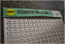 Decorative Perforated Sheet Metal Panels Roofing and Siding