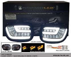 honda goldwing gl1800 dynamic sequential led turn signal lens kit