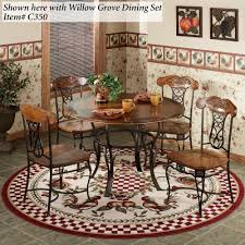 Wrought Iron Dining Room Chairs Flooring Decorative Carpet Remnants Lowes On Lowes Wood Flooring