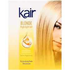 silver hair frosting kit kair blonde high light kit clicks