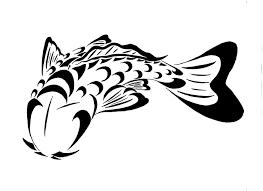tribal koi fish design koi fish tattoos fishing