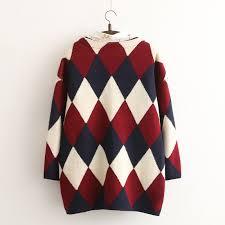 plaid sweater japanese plaid sweater cardigan jacket kawaii harajuku