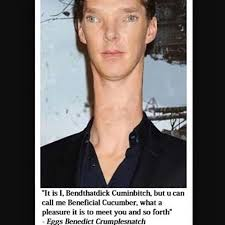 Benedict Cumberbatch Meme - images about beneficialcucumber tag on instagram