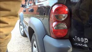 replacing my tail light assembly 2007 jeep liberty youtube