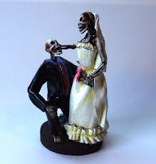 skeleton cake topper wedding cakes pictures skeleton wedding cake toppers