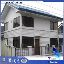 china supplier white prefab baguio city house and lot for sale