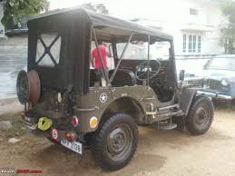 military jeep willys for sale my love story willys jeep team bhp