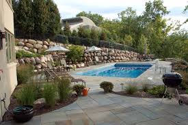 swimming pool landscape design in minneapolis southview design