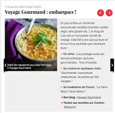 gourmand magazine cuisine presse voyage gourmand