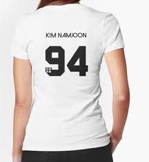 womens halloween shirt kim namjoon rapmon real name bts member jersey hyyh