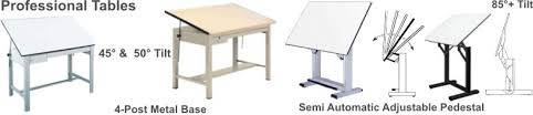 Drafting Table Dimensions Professional Drafting Tables For Architects Engineers Schools