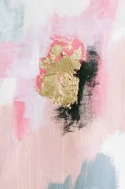 pink grey white black and gold a little painting inspiration