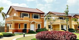 Camella Homes Drina Floor Plan Drina House For Sale In Vista City Daang Hari