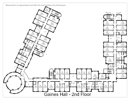 Dorm Floor Plans by Francis P Gaines Hall Washington And Lee University