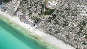Panama City Map Panama City Beach Map Google Image Gallery Hcpr