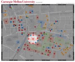 Notre Dame Campus Map Duquesne University Map Where Do Pittsburghers Get Street Sweeping