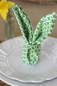 Easter Decorations For Tables by Simple Spring U0026 Easter Table Decorations Rabbit Ears Easter