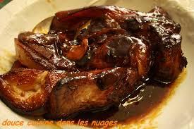 cuisiner une rouelle de porc rouelle de porc braisée au vinaigre douce cuisine dans les nuages