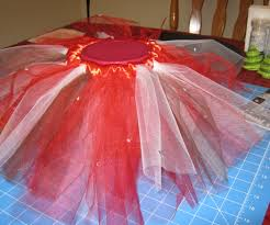 how to make a no sew tutu using pre cut tulle for your infant