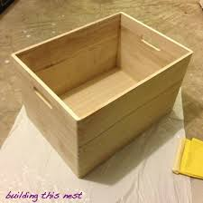 wood storage bins plans plans diy free download woodworking clock