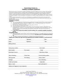 wedding planning companies wedding planner contract sle templates hacks