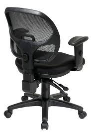 29024 30 office star mesh back ergonomic task chair with multi