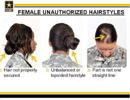 hairstyles for female army soldiers female unauthorized hairstyles and the us army sexual and