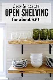 ideas for shelves in kitchen diy kitchen shelves best 25 ideas on floating 680x1020 1
