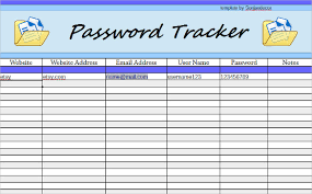 Free Spreadsheet Templates by 9 Password Spreadsheet Templates Free Sle Exle Format