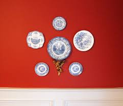 How To Hang Decorative Plates How To Hang A Decorative Plate Arrangement Artistry Interiors Llc