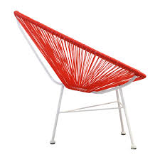 Acapulco Outdoor Chair Acapulco Lounge Chair In Red The Khazana Home Austin Furniture Store