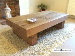 rustic solid wood coffee table handmade solid wood coffee table nandanam co