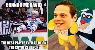 Edmonton Memes - hilarious connor mcdavid and auston matthews memes
