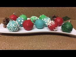 cake pop ornaments