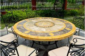 Mosaic Patio Table Top by Patio Chair On Patio Furniture With Fancy Mosaic Patio Table