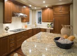 granite countertop granite kitchen countertops with oak cabinets