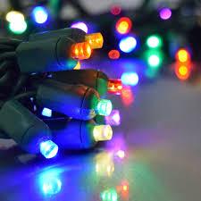 led net lights multi color multi color led party string light 50 lights