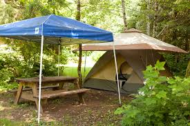 Camping Picnic Table Outback Cabins U0026