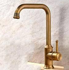 Kitchen Faucet Brass Delta Antique Brass Kitchen Faucet With Sprayer Kohler Faucets