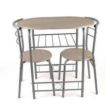 Dinner Table Chairs by 3 Piece Dining Set Breakfast Bar Kitchen Table Chairs Christow