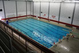 indoor pool at milford high milford community program