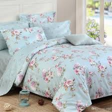 riho 4 piece 100 cotton bedding rural floral rose elegant