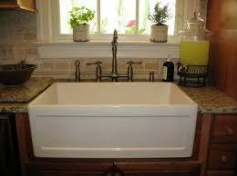 How To Clean White Porcelain Kitchen Sink Vanity Porcelain Kitchen Sinks Cast Iron White Sink And Table Vas