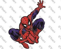 spiderman svg etsy