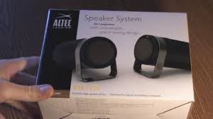 altec home theater altec lansing bxr 1220 speakers unboxing and tests youtube