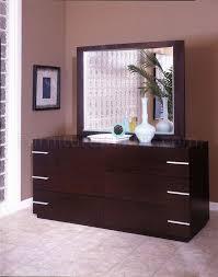dark espresso finish modern six drawer dresser
