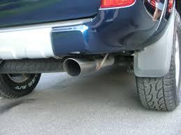 nissan frontier exhaust tip gibson exhaust on 4th gen who u0027s got it toyota 4runner forum