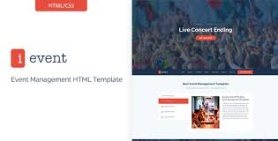ievent responsive event management html5 template by themexy