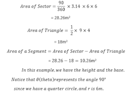 Area Of Sector Worksheet Segment Of A Circle Definition Formula Lesson